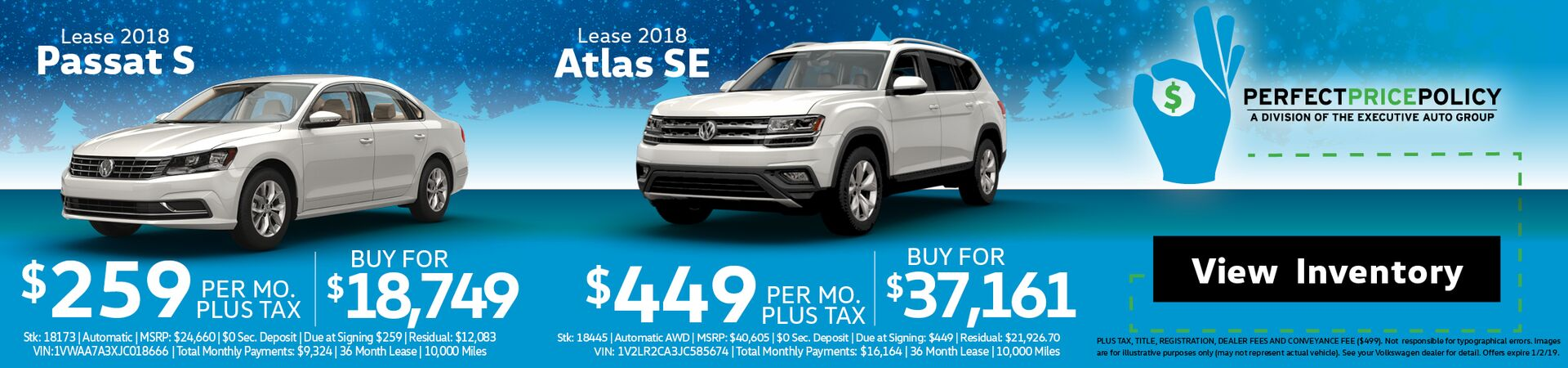 Passat Atlas lease Dec2018
