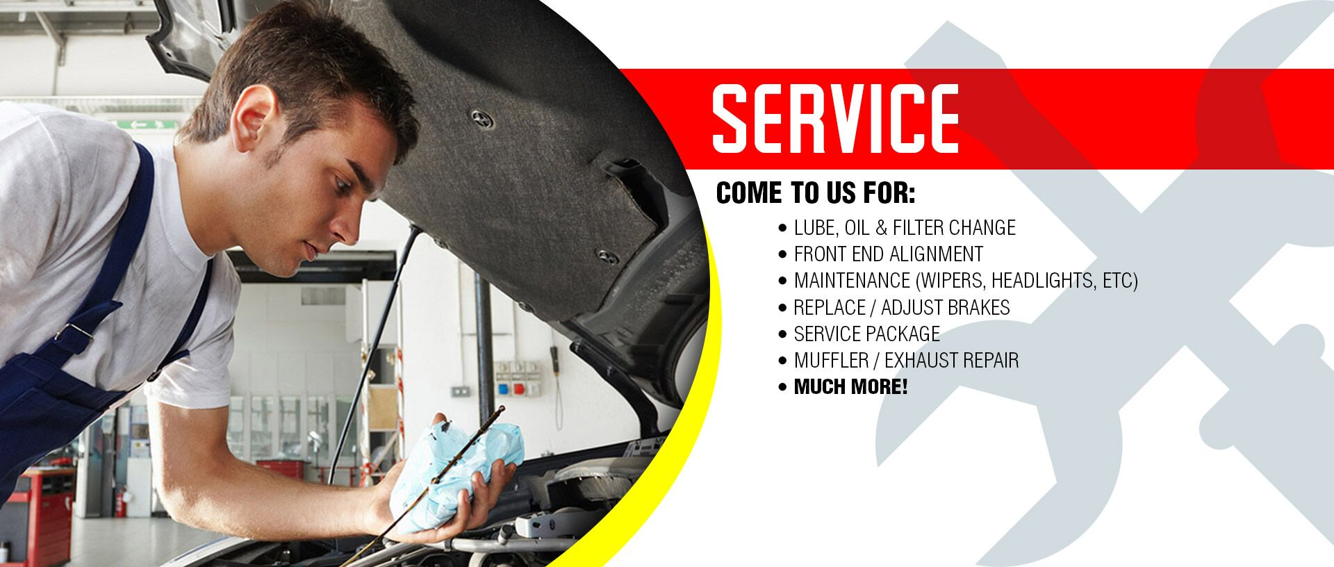 Siry Auto Service Department