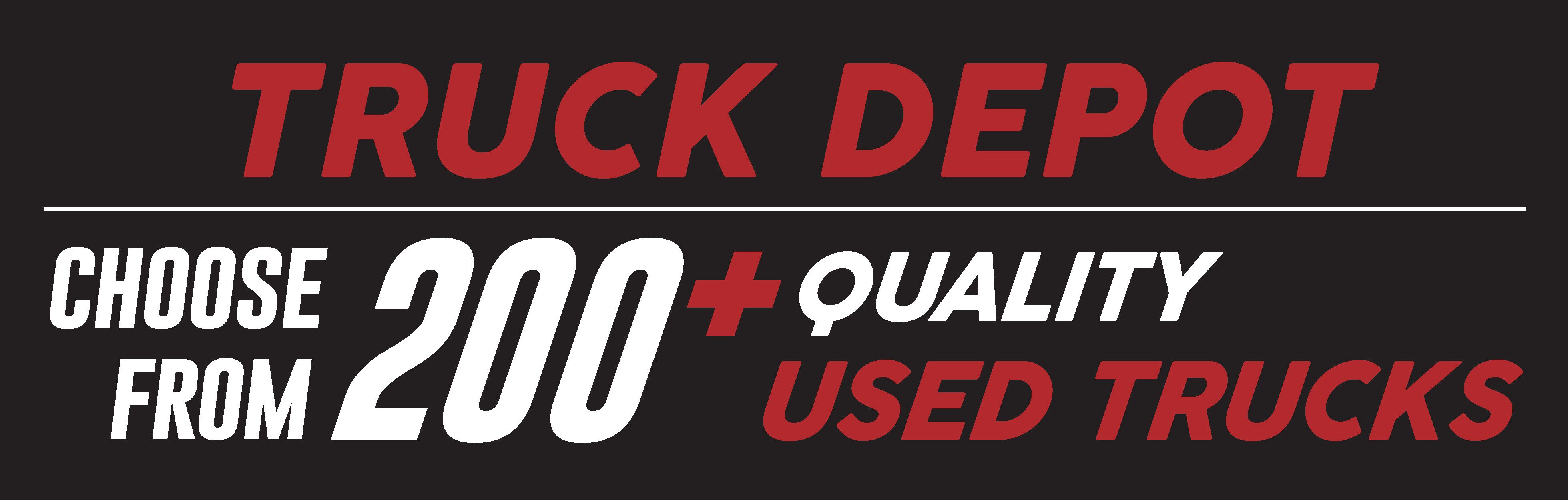 Truck Depot page banner