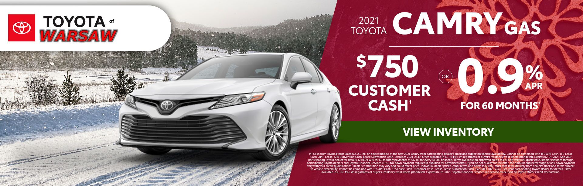 2021 Toyota Camry Gas