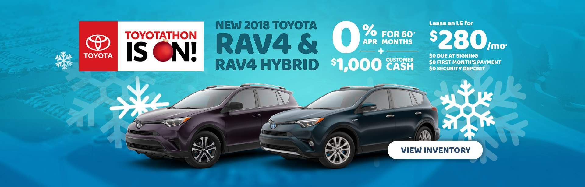 2018 Rav4 and Rav4 Hyrbrid