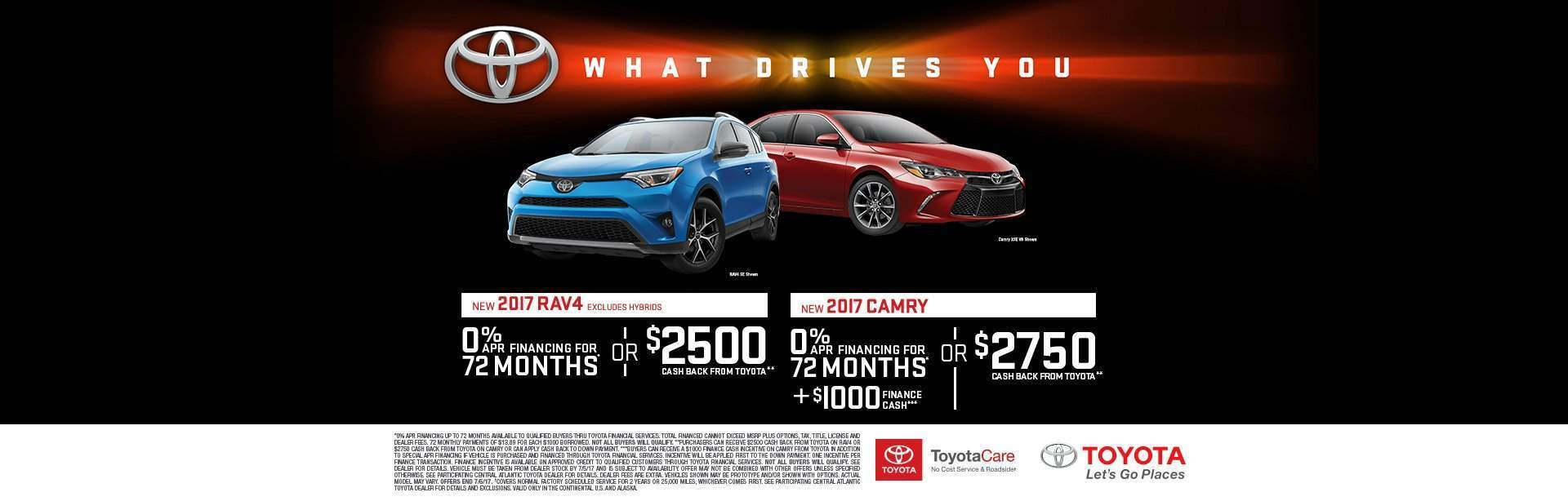 What Drives You Rav4/Camry