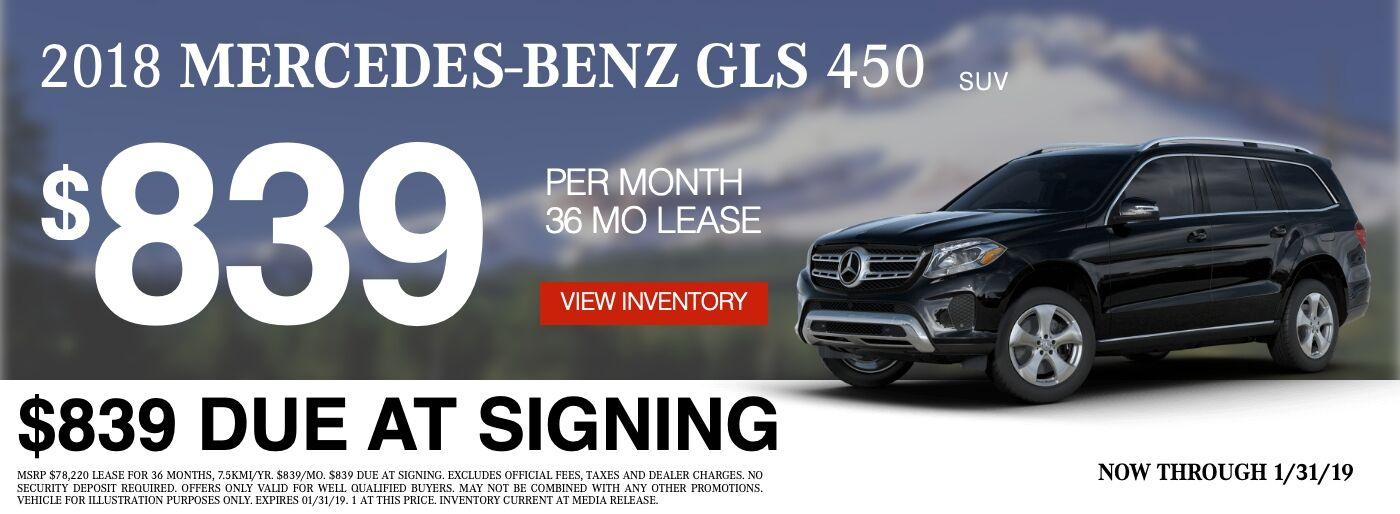 2018 Mercedes-Benz GLS 450 4MATIC® SUV