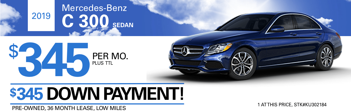 Mercedes Benz Lease >> Vehicle Specials In Portland Or