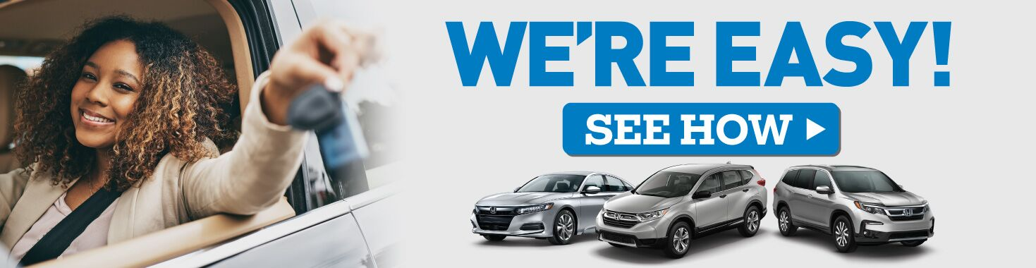 See How It's Easy to Purchase or Service Your Vehicle at Davenport Honda! Click to Learn More.