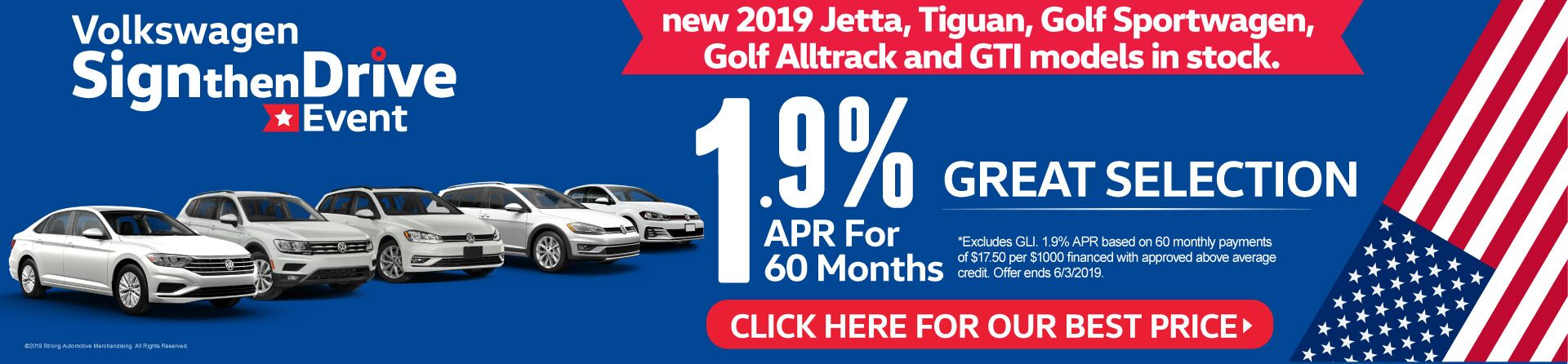 Sign Then Drive Event 1.9% APR