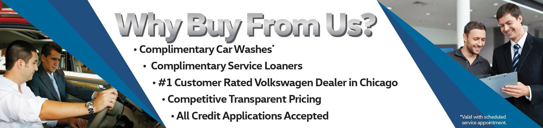 Why Buy From Elgin Volkswagen?