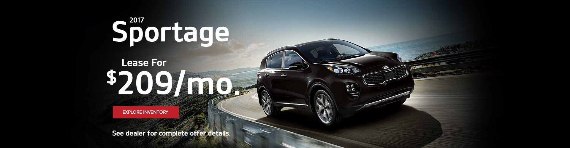 New Kia Sportage at Airport Kia