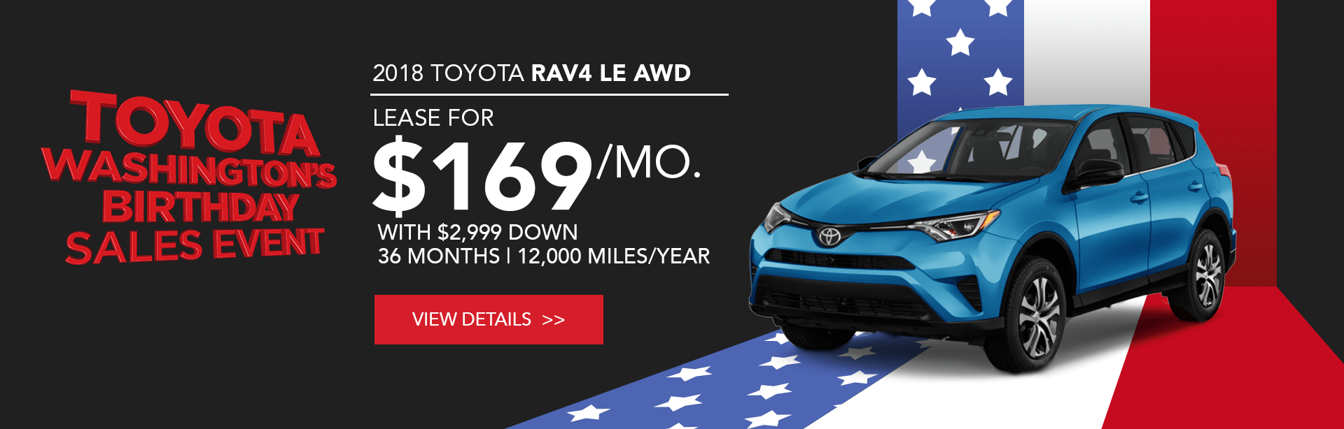 Toyota RAV4 Special Offer