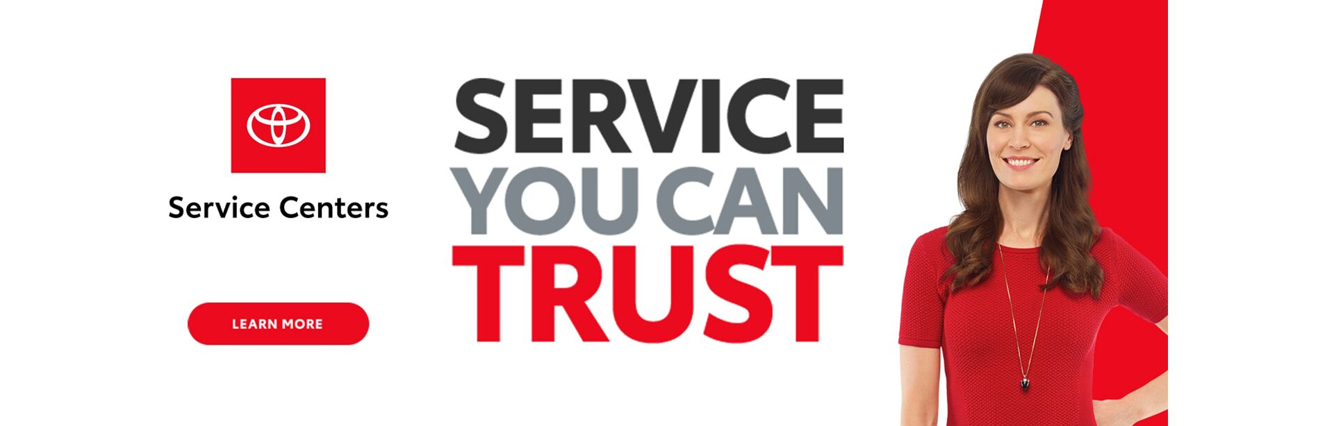 Service You Can Trust Slider
