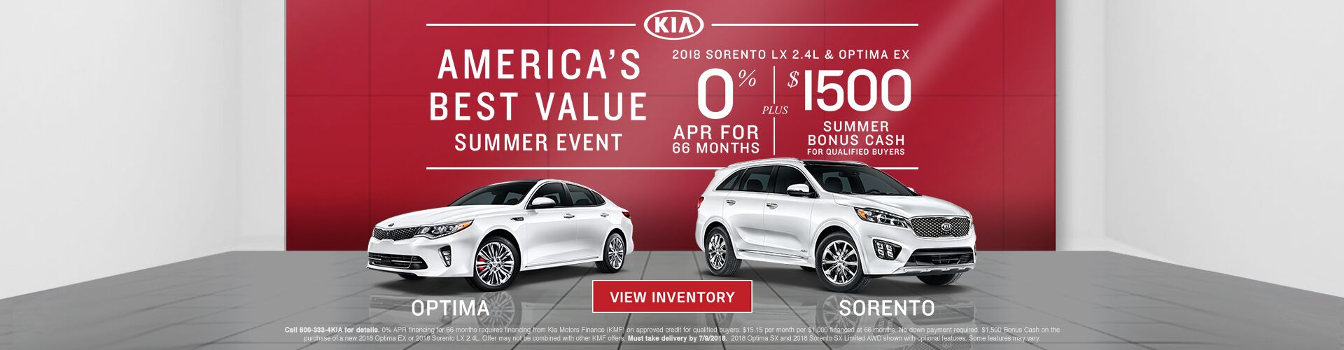 America's Best Value Summer Event at Kia Marin