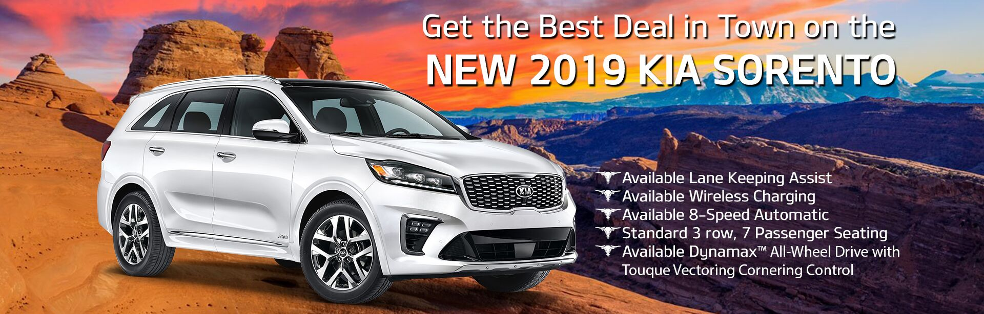 2019 Sorento Best Deal in Town