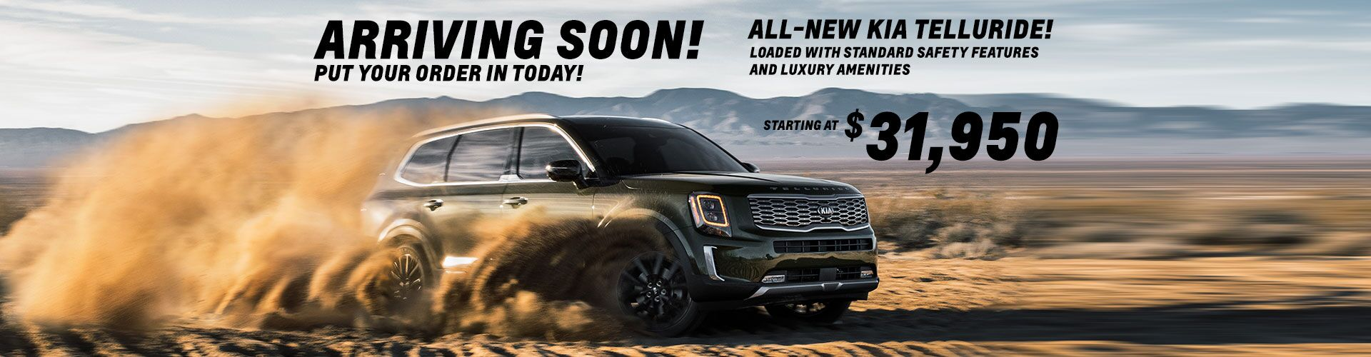 Coming Soon - Kia Telluride