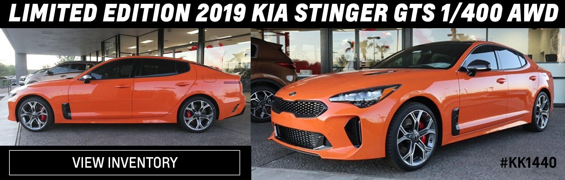 Limited Edition Kia Stinger
