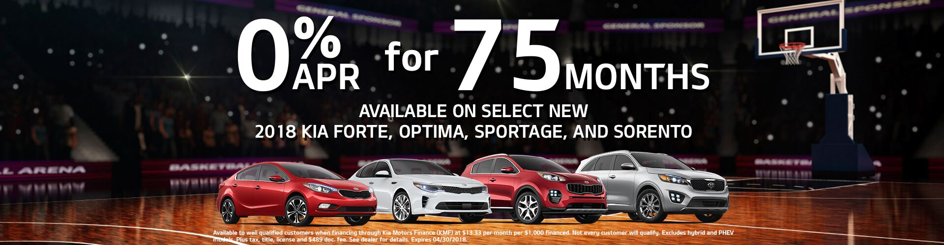 Sales Event at Earnhardt Kia