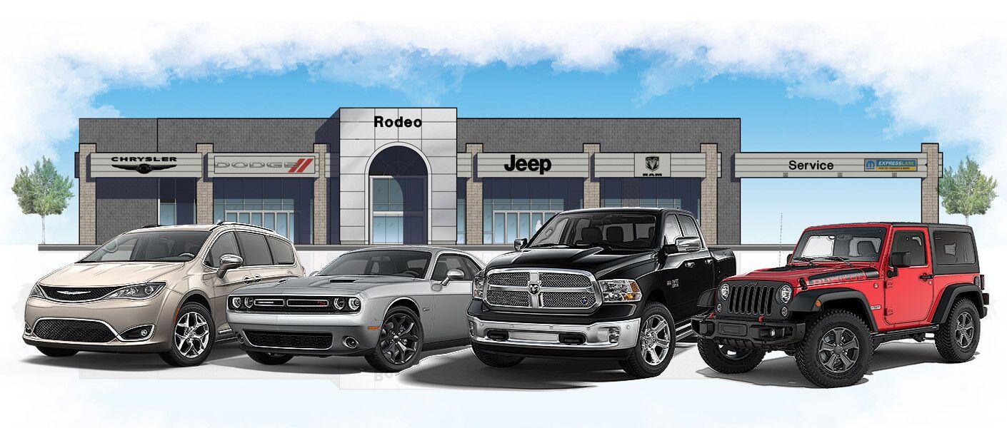 Ford Dealership Phoenix Az >> Rodeo Chrysler Dodge Jeep Ram Truck Dealership Queen Creek AZ