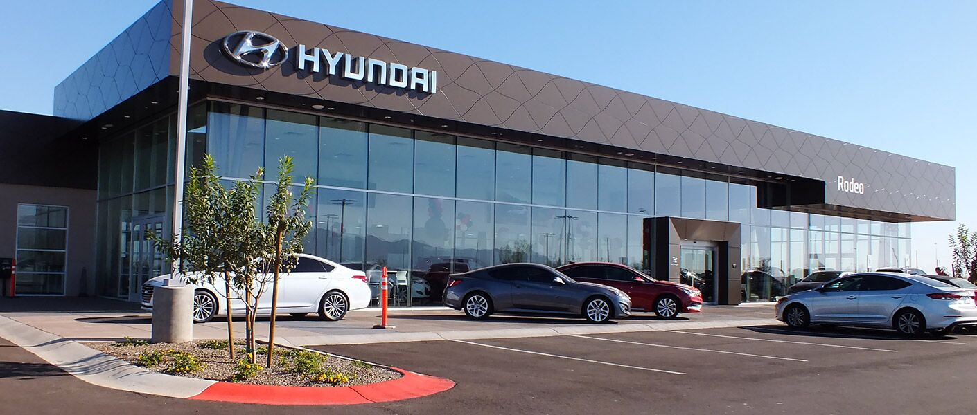 Rodeo Hyundai West Phoenix Hyundai Dealer In Surprise Az