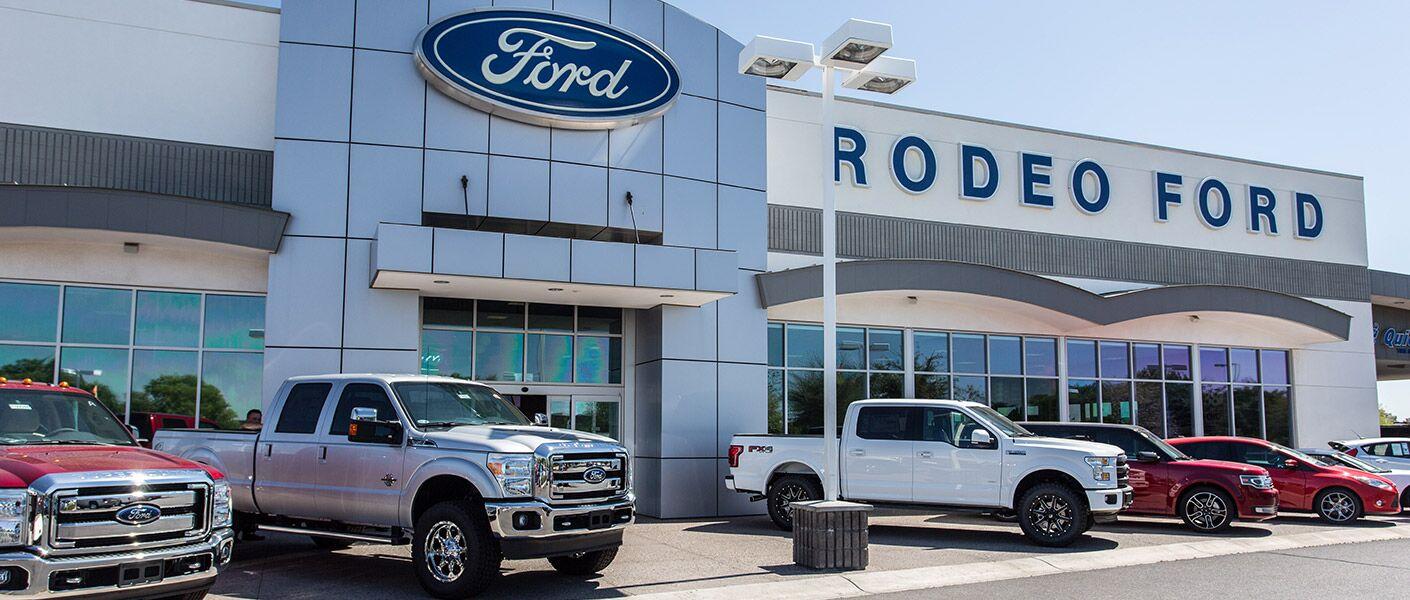 Rodeo Ford Trucks In Goodyear Phoenix Az Ford Truck Dealer Arizona