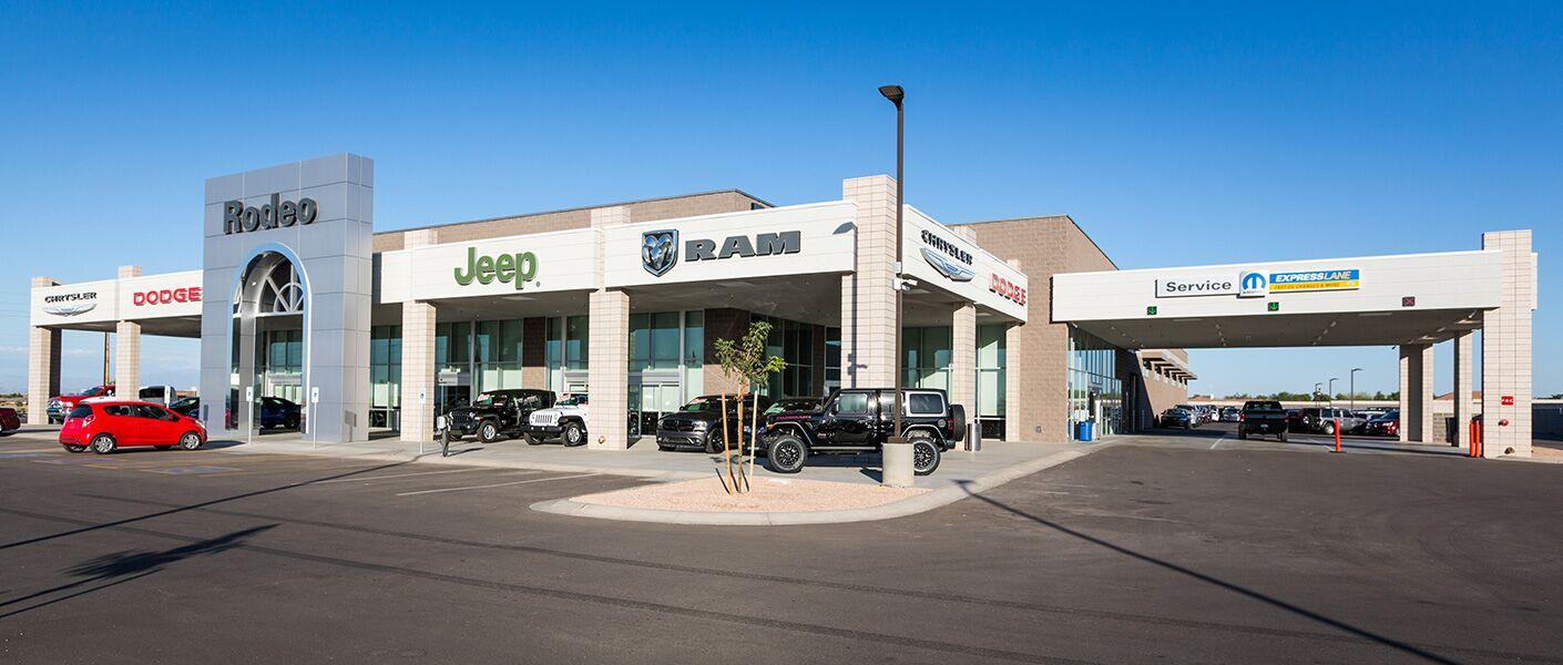 dodge dealership queen creek Rodeo Chrysler Dodge Jeep Ram Truck Dealership Queen Creek AZ