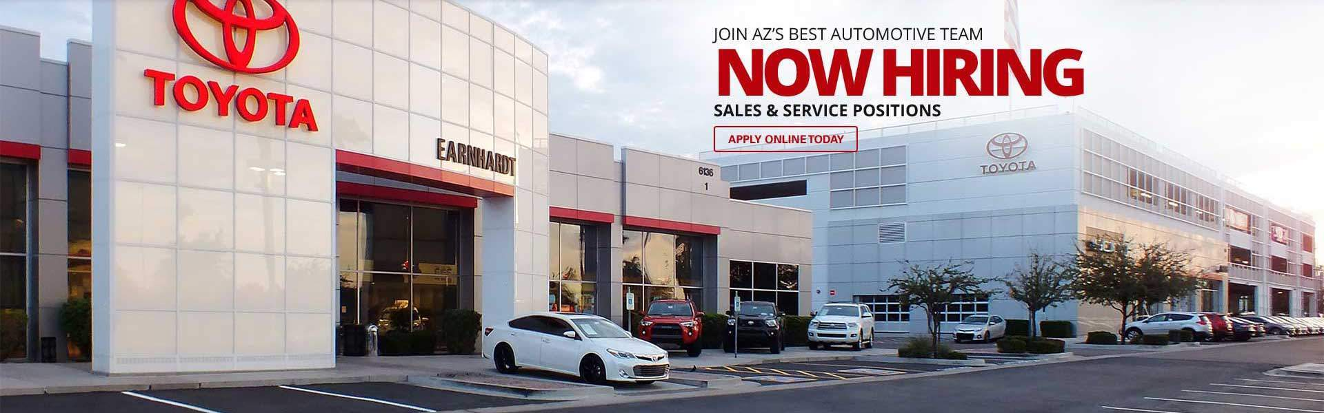 Earnhardt Toyota Dealer Mesa Az Serving Phoenix Autos Post