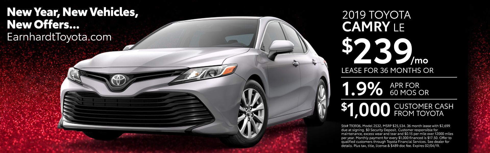 Camry Lease