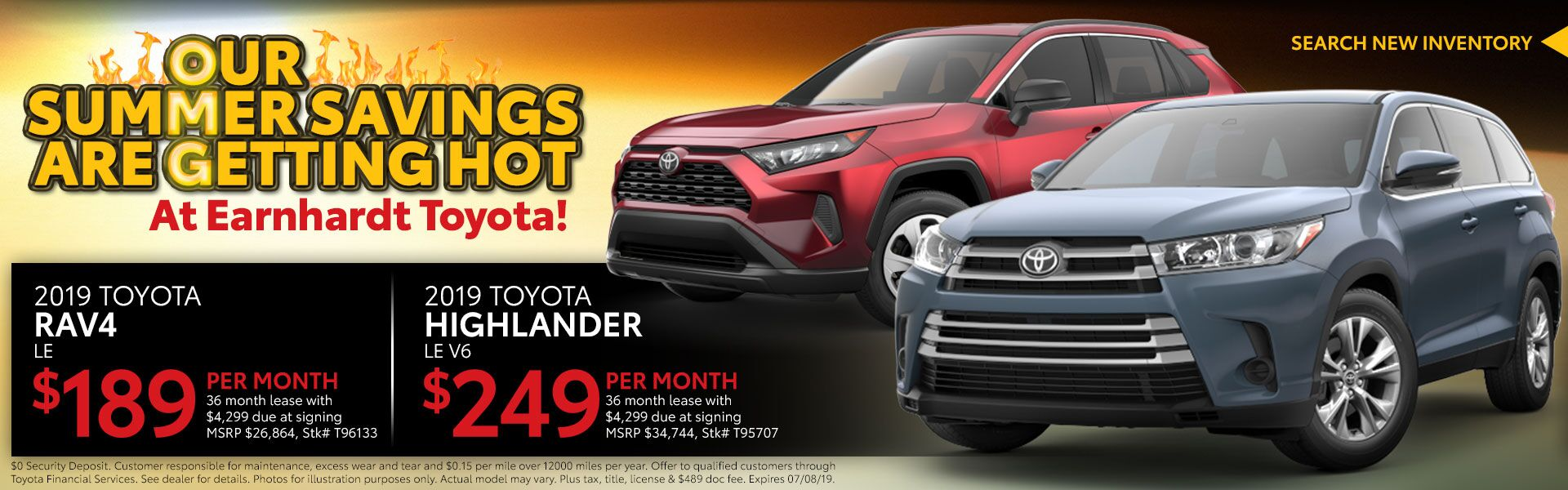 2019 RAV4 or 2019 Highlander