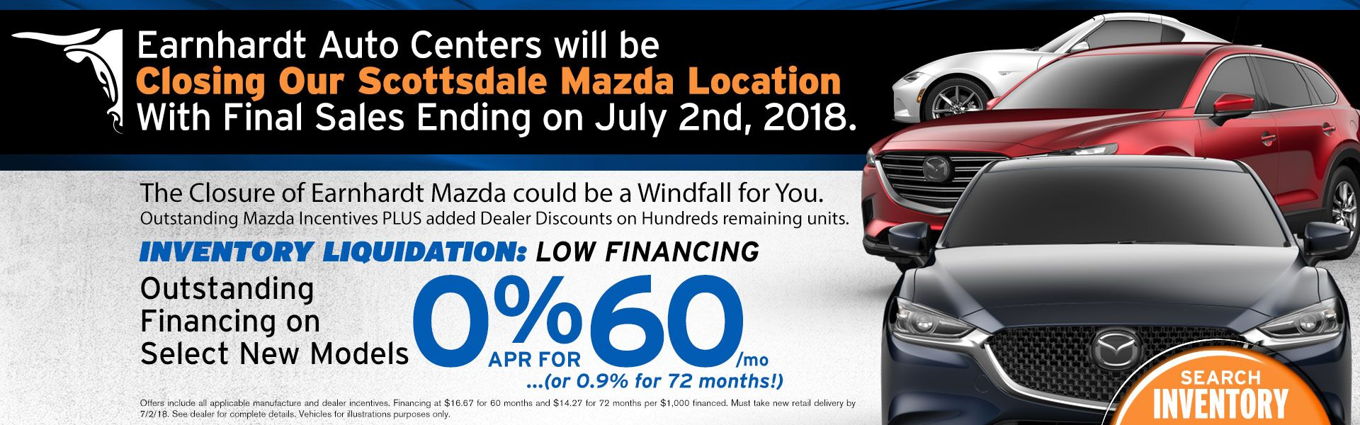 Mazda Dealership Scottsdale AZ | Used Cars Earnhardt Mazda