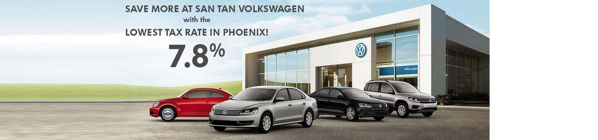 Phoenix Az Vw Dealer San Tan Volkswagen Serving