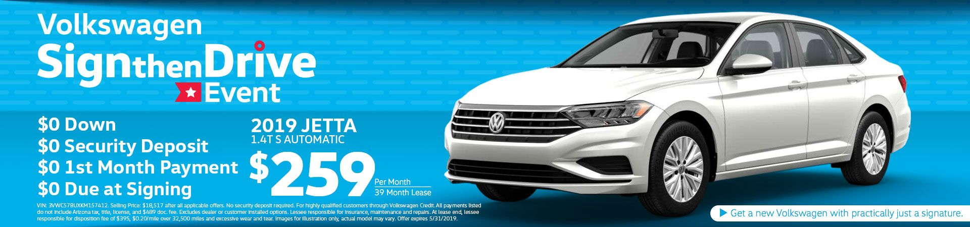 Jetta Special Offer
