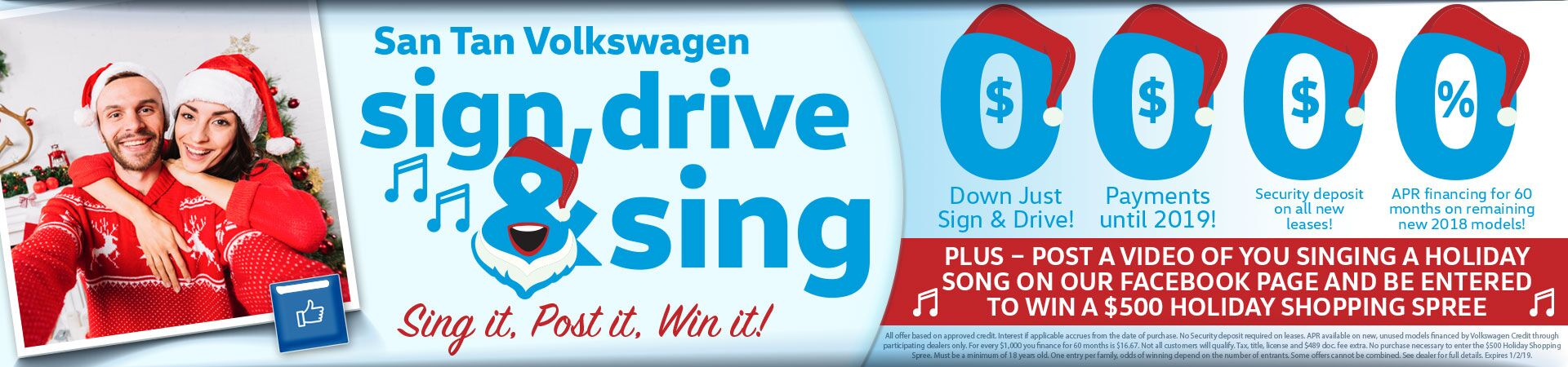 Sign Drive & Sing