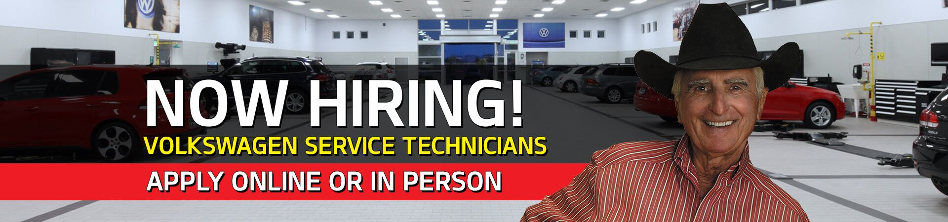 Now Hiring Service Technicians