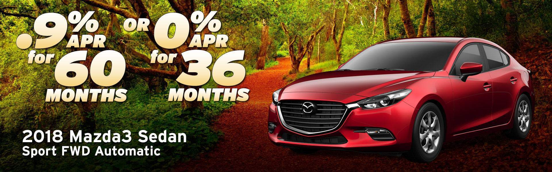 2018 Mazda3 Sedan at Earnhardt Mazda Las Vegas