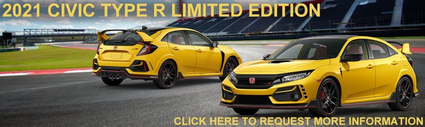 2021 Civic Typer R Limited Edition