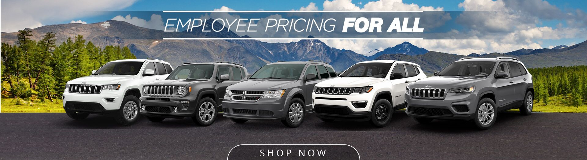 Employee Pricing - Dodge and Jeep