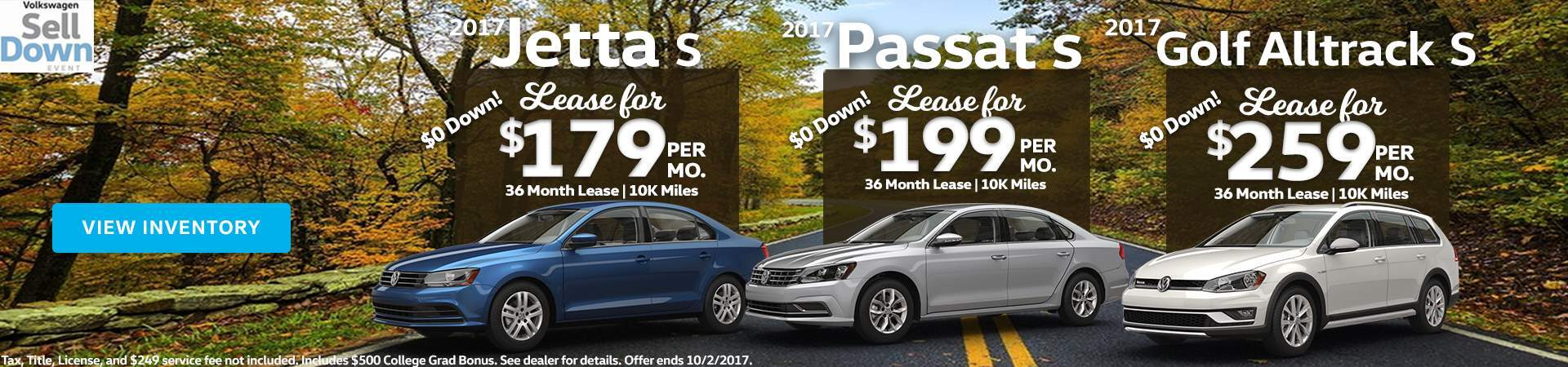 September Lease Specials