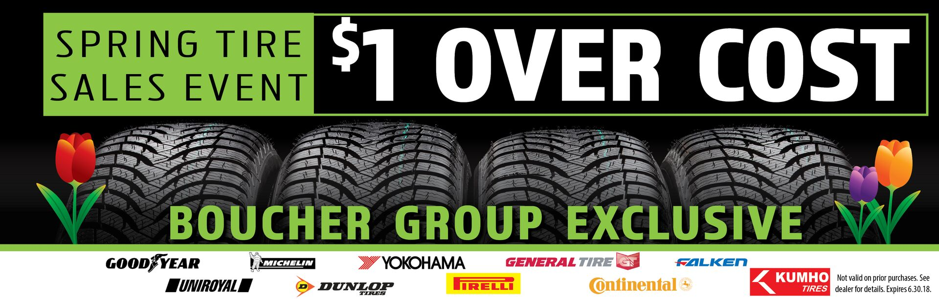 Spring Tire Sales Event