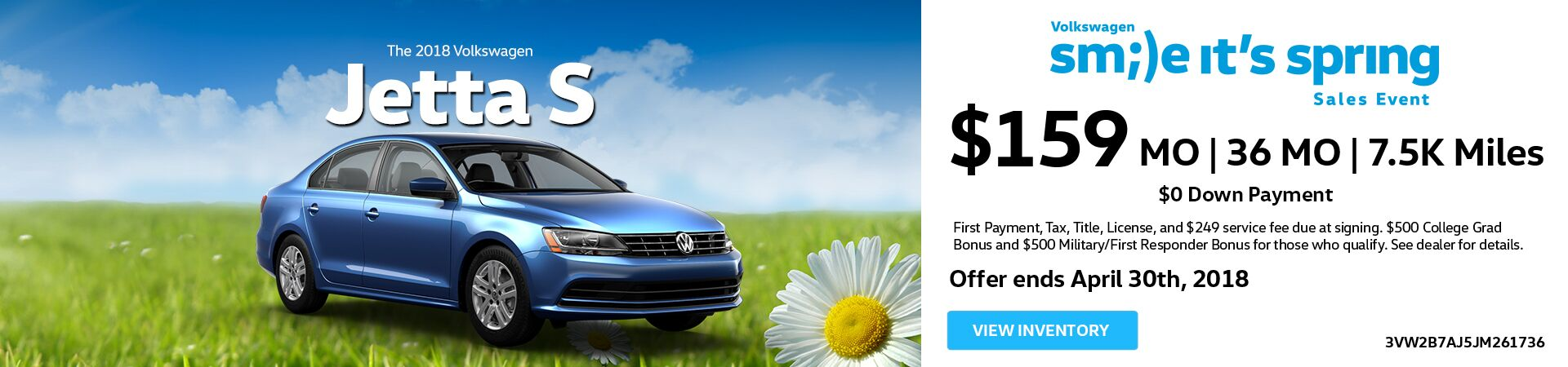 April Jetta Lease