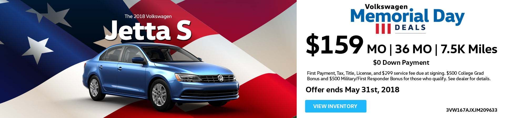 Tiguan May Offer