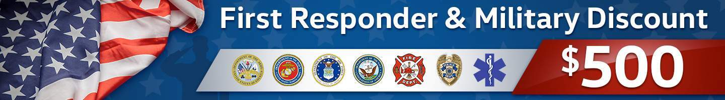 First Responders and Military Discount