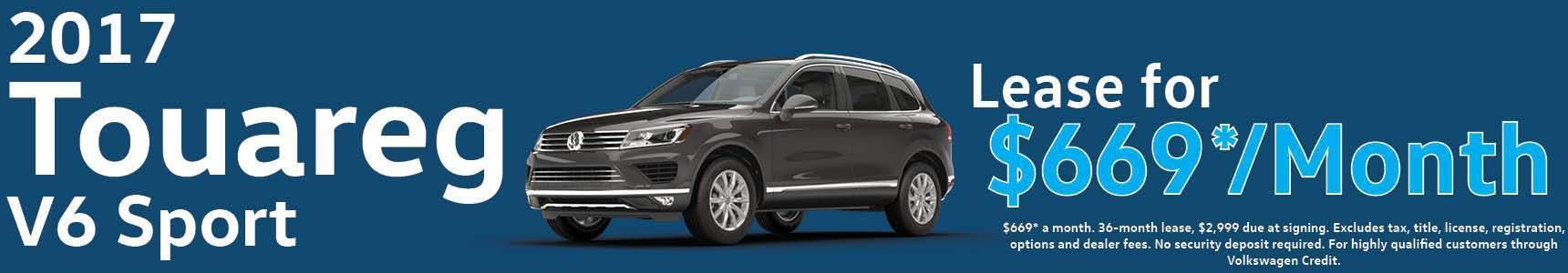 New Volkswagen Touareg Brookfield Wi