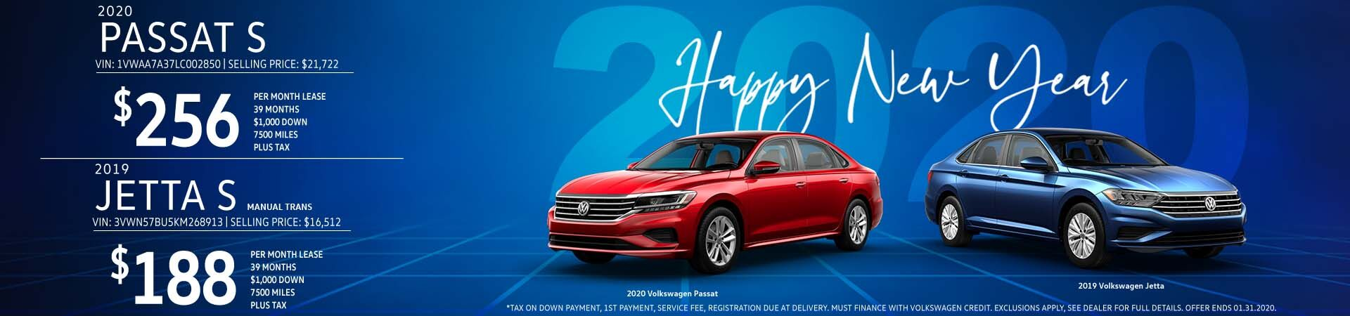 Hall Volkswagen Jetta Passat January 2020 Offers