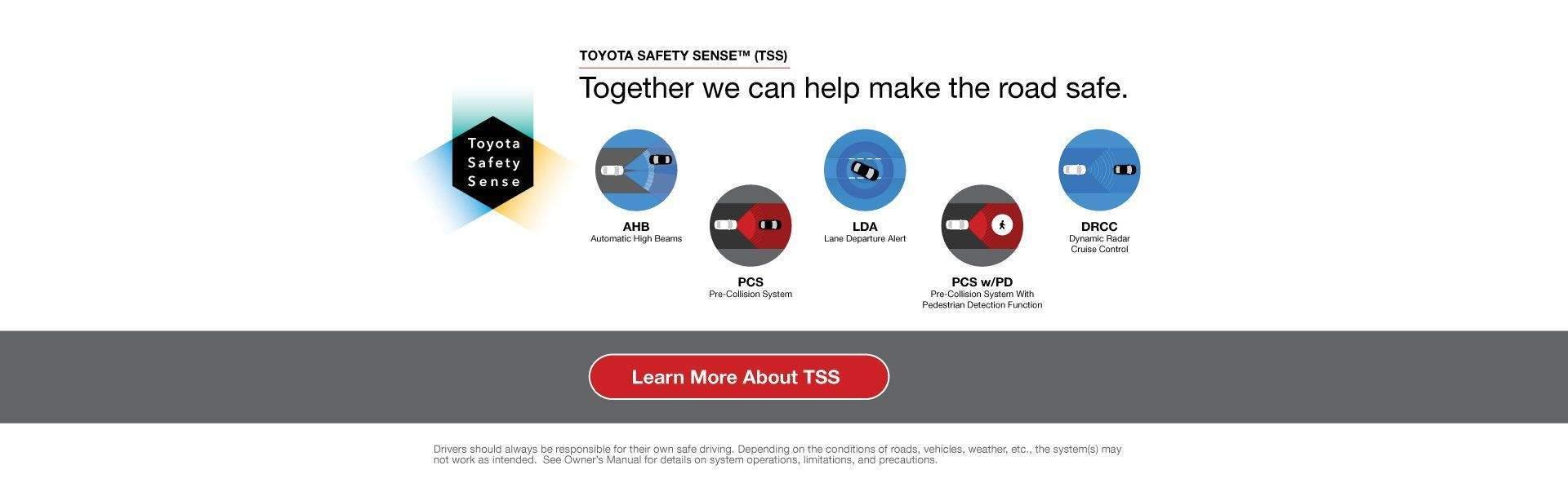 Nat tss toyota safety sense