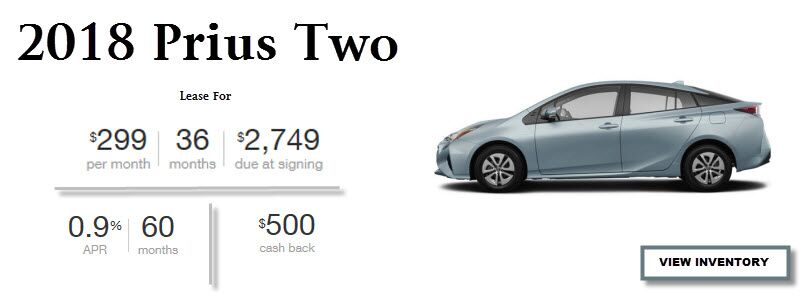2018 Prius Two