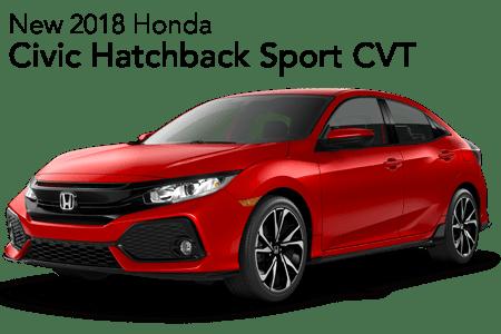 2018 Civic Hatchback Sport FWD