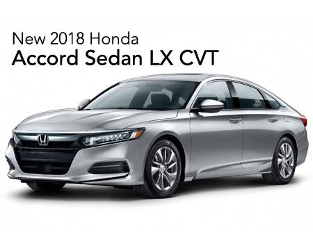 2018 Honda Accord Sedan LX FWD