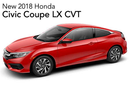 2018 Civic Coupe LX FWD