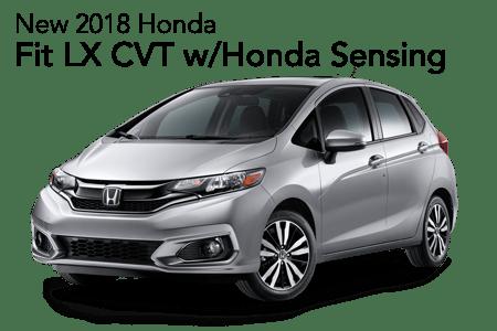 2018 Fit LX w/Honda Sensing FWD