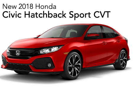2018 Civic Hatchback Sport FWD