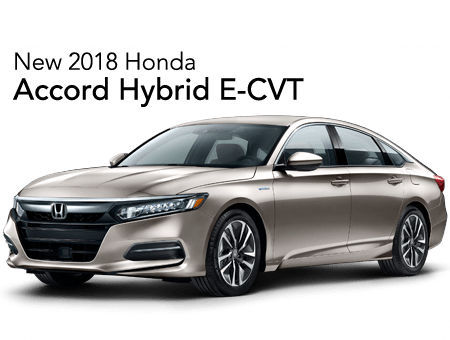 2018 Accord Hybrid  FWD