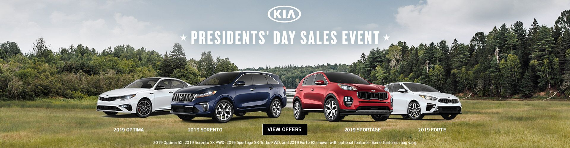 Presidents Day Sales Event